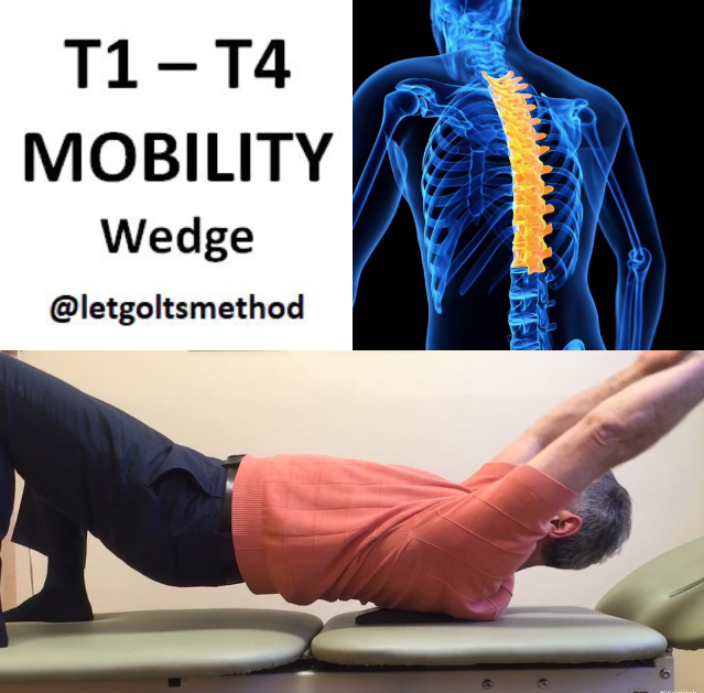 Thoracic Spine T1 T4 Mobilization